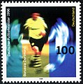 Stamp Germany 1996 Briefmarke Deutscher Fußballmeister.jpg