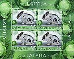 Stamps of Latvia, 2011-01sh.jpg