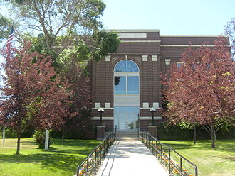 Judith Basin County, Montana - Image: Stanford MT Judith Basin Courthouse