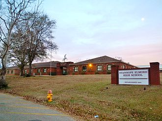 Stanhope Elmore High School - Image: Stanhope Elmore High School Millbrook, Alabama