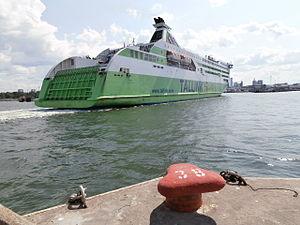 MS Star - Image: Star arriving Tallinn 14 July 2013