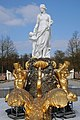 Statue in the fountain at the Palce garden of Palce Het Loo at 12 March 2016 - panoramio.jpg