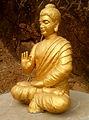 Statue of Buddha at Dammagiri in Duvvada 02.jpg