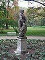 Statue of Herakles in Łazienki Park, Warsaw, Poland 10.jpg