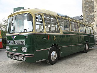 Thomas Harrington & Sons - Preserved Harrington Cavalier bodied AEC Reliance