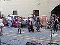 Steampunk Makers Fair Lafayette 2013 VineSt Tallhat Stockings.JPG