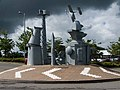 Steel Sculpture in Retail Park - geograph.org.uk - 872887.jpg