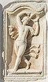 Steindorf Tiffen Pfarrkirche röm. Grabbaurelief tanzende Mänade 07032015 0373.jpg