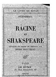 Stendhal: Racine et Shakespeare