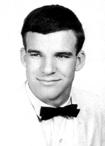 Steve Martin as a senior in high school, 1963 Steve Martin HS Yearbook.jpeg