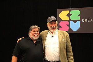 C2SV - Steve Wozniak and Nolan Bushnell at C2SV 2013 Conference