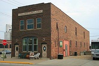 Boone, Iowa - Stoll Bottling Works Building in Boone