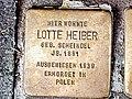 Stolperstein Heiber Lotte Muelheimer Str 81 Duisburg-Duissern.jpg