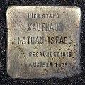 Stolperstein Spandauer Str 17 (Mitte) Kaufhaus Nathan Israel.jpg