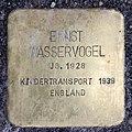 Stolperstein Weimarer Str 28 (Charl) Ernst Wasservogel.jpg
