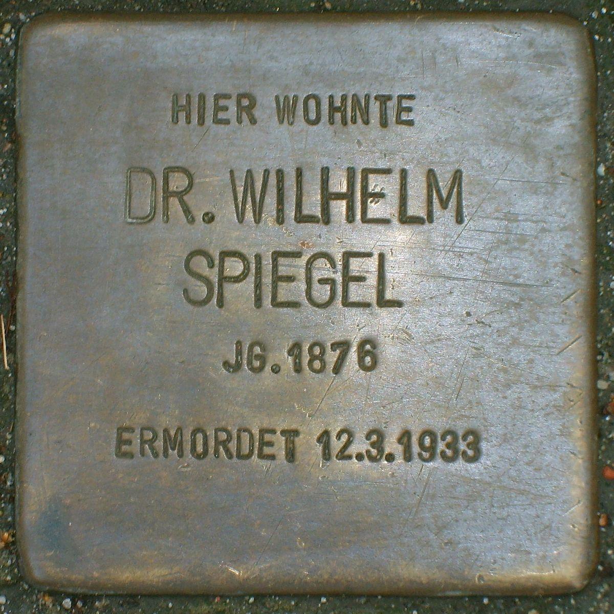 Wilhelm spiegel wikipedia for Spiegel wiki