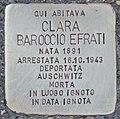 Stolperstein für Clara Baroccio Efrati (Rom).jpg