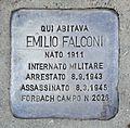 Stolperstein für Emilio Falconi.JPG