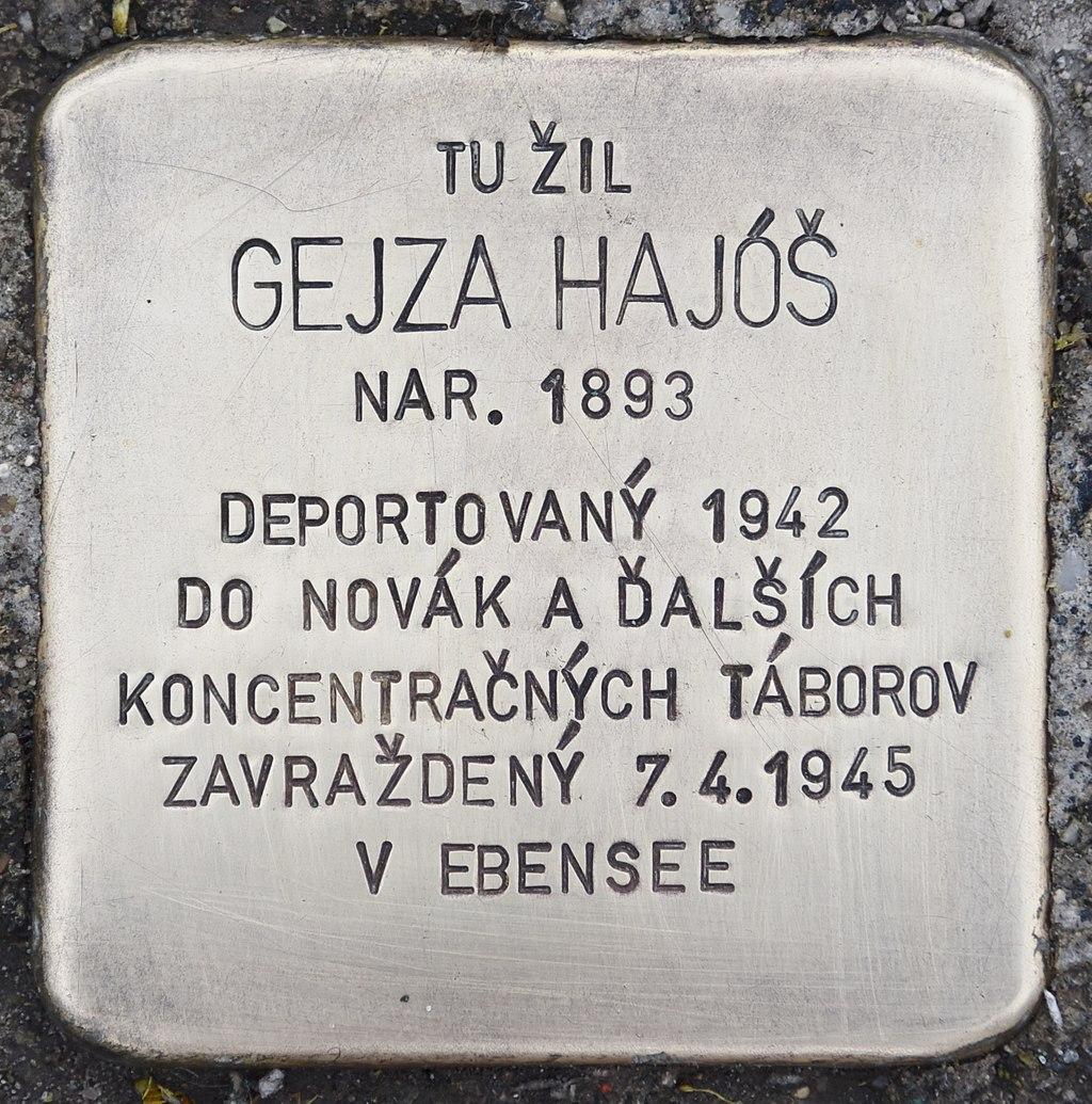 Stolperstein für Gejza Hajos.jpg