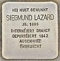 Stolperstein für Siegmund Lazard (Differdingen).jpg