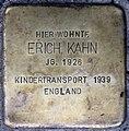 Stolpersteine Heidelberg, Erich Kahn (Bunsenstraße 7).jpg