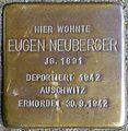 Stolpersteine Köln, Eugen Neuberger (Trierer Straße 17).jpg