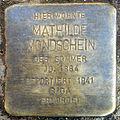 Stolpersteine K-Lindenthal Krieler Strasse 11 Mathilde Mondschein.jpg