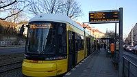 Straßenbahn Berlin 4033 Greifswalder Straße Danziger Straße 180228.jpg