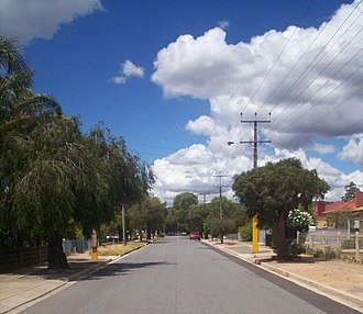 Clovelly Park, South Australia - English Avenue, looking east towards South Road