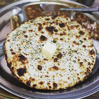 Naan Asian flatbread