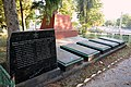 Subbotsi Brothery Graves of WW2 Warriors-Fellow-Villagers 02 Village Centre near Stores (YDS 2739).jpg