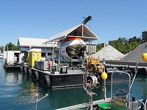 Mir (submersible) - The Mirs at Lake Geneva in July 2011