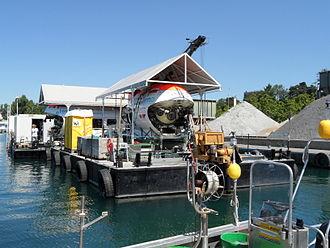 Mir (submersible) - The Mirs at Lake Geneva in July 2011