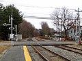 Sudbury Road grade crossing in Concord, December 2014.JPG