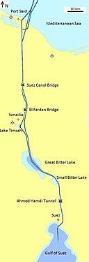 Suez canal english