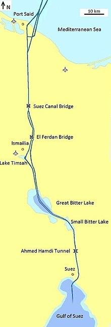 Suez Canal - Wikipedia