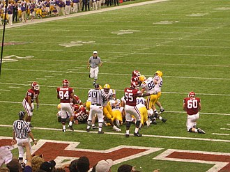 Sugar Bowl - 2004 Sugar Bowl, Louisiana State University vs. Oklahoma; January 4, 2004