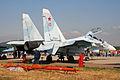Suhkoi Su-30M-2 Flanker-C RF-95621 10 red (8583741614).jpg