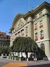 The Central Bank Of Switzerland Swiss National Snb Is Headquartered In Bern