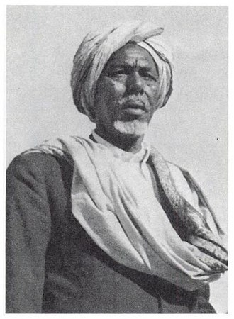 Somali aristocratic and court titles - Portrait of Sultan Abdillahi Sultan Deria, the grand Sultan of Isaaq clans.