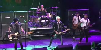 13 Voices - Sum 41 performing in Cleveland, Ohio in 2015.