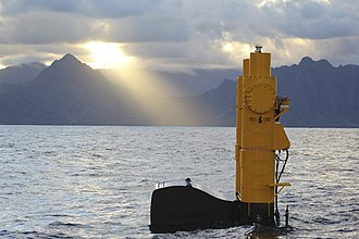 Wave power - Azura at the US Navy's Wave Energy Test Site (WETS) on Oahu