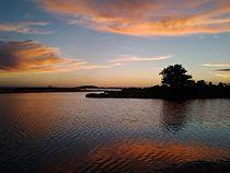 Sunset at Chincoteague Bay (9354058396).jpg