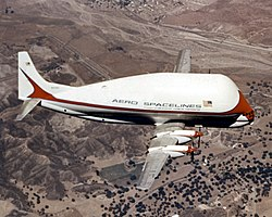 Super Guppy in flight (MSFC-0101141) (cropped).jpg