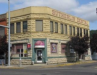Sutherlin, Oregon City in Oregon, United States