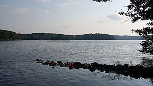Stillwater Township, New Jersey - Swartswood Lake is the third-largest freshwater lake in New Jersey