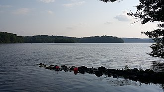 Swartswood State Park - Third largest freshwater lake in New Jersey