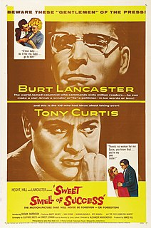 <i>Sweet Smell of Success</i> 1957 film by Alexander Mackendrick