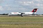 Swiss, British Aerospace Avro RJ100, HB-IXT (20134487319).jpg