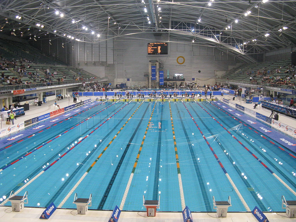 Olympic Ground - Sydney Olympic Park Aquatic Centre [bron: wikimedia.org]